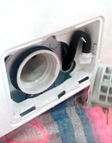 Стиральная машина течёт