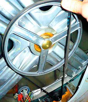 Замена ремня в стиральной машине