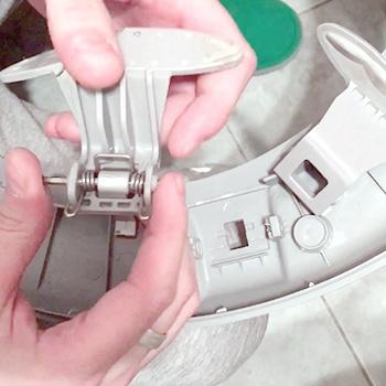 Замена ручки люка в стиральной машине