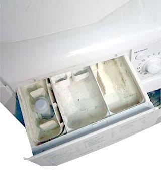 Ремонт дозатора стиральной машины